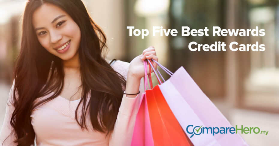 top five best rewards credit cards