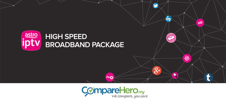 Astro IPTV broadband