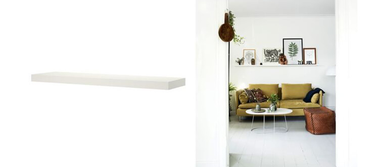 ikea lack wall shelves