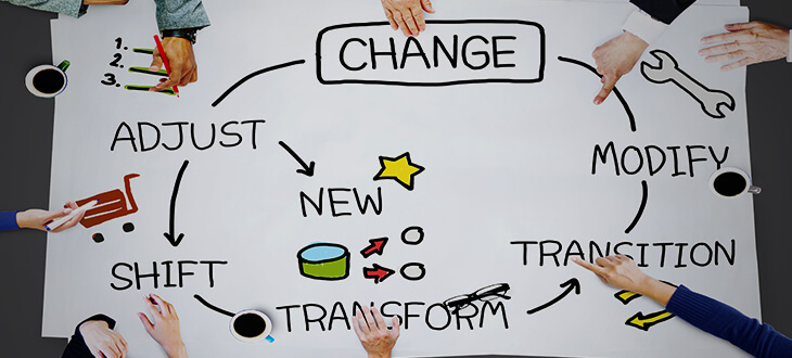 Be adaptable and change