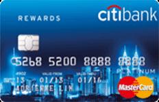 Citi Rewards Platinum Card MasterCard