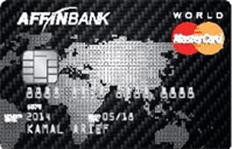 Affin Bank World Mastercard