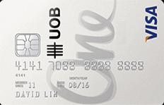 UOB One Card Visa