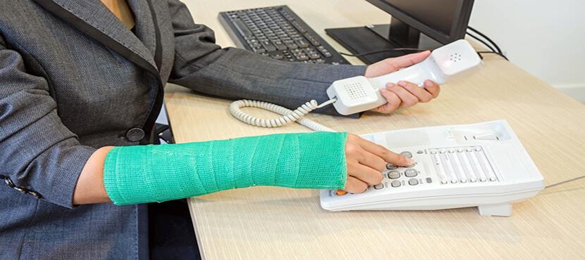 employee injury at work