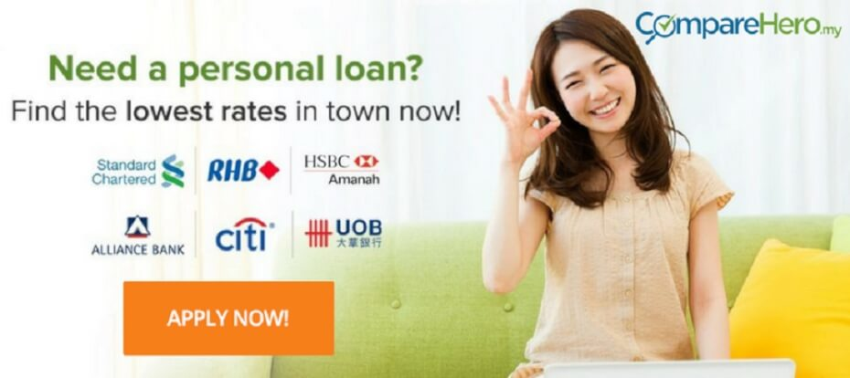 apply for personal loan in Malaysia