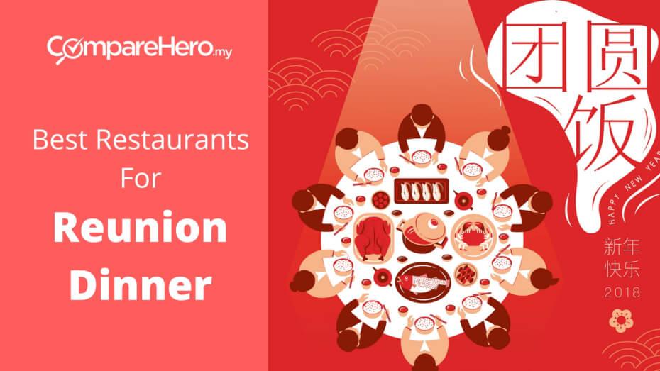 best restaurants for chinese reunion dinner