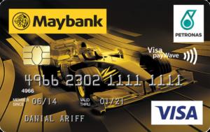 maybank petronas visa credit card