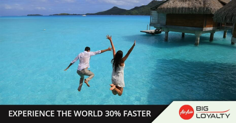 Convert Bank Points For 30% More AirAsia BIG Points