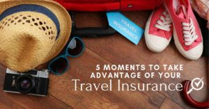 situations travel insurance can be helpful for you