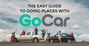 GoCar promotion and guide to rent a car