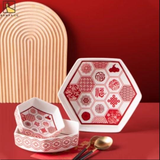 Chinese New Year Ceramic Tableware