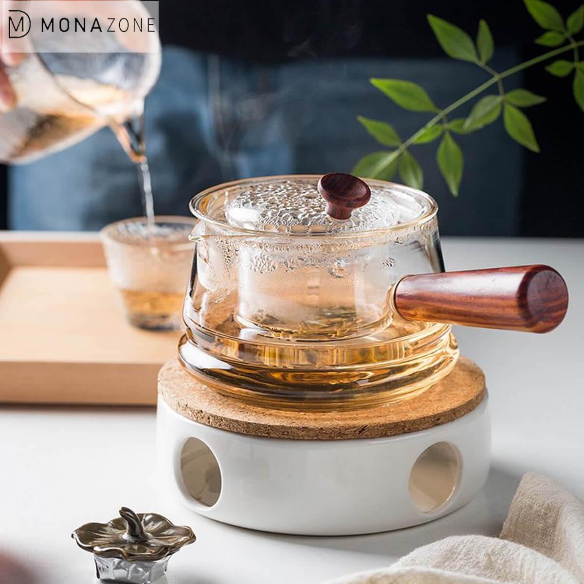 High Borosilicate Glass Teapot Set Glass Boiling Teapot Tea Maker