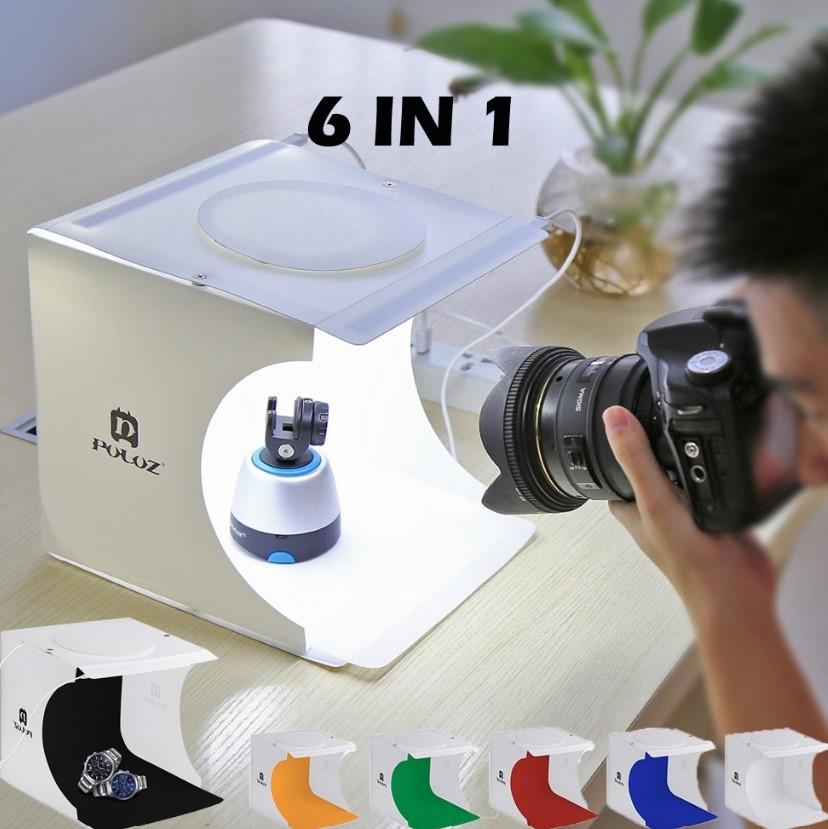 LED Light Room Photo Studio Photography Lighting Tent